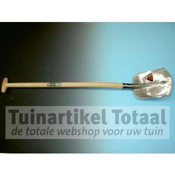 STEEKBATS RB1/4 000 MET GEBOGEN STEEL 100 CM  WWW.TUINARTIKELTOTAAL.NL
