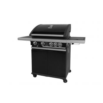 PATTON PATIO CHEF 4+ BURNER NOVA BLACK   WWW.TUINARTIKELTOTAAL.NL