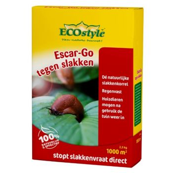 ECOSTYLE ESCAR GO 2,5 KG  WWW.TUINARTIKELTOTAAL.NL