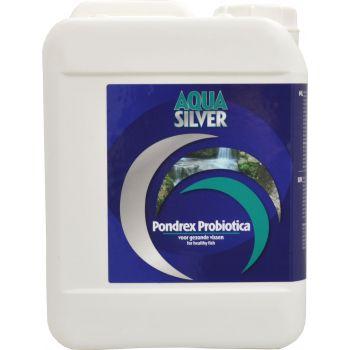 AQUA SILVER PONDREX MELKZUUR BACTERIËN PROBIOTICA 5000 ML  WWW.TUINARTIKELTOTAAL.NL