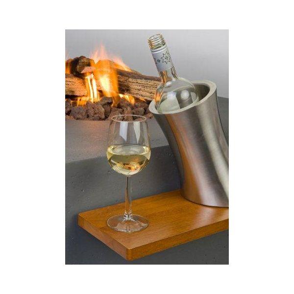 HAPPY COCOONING HOUTEN SIDE TABLE ROND/OVAAL  WWW.TUINARTIKELTOTAAL.NL