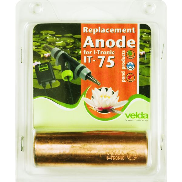 VELDA ANODE I-TRONIC IT-75  WWW.TUINARTIKELTOTAAL.NL