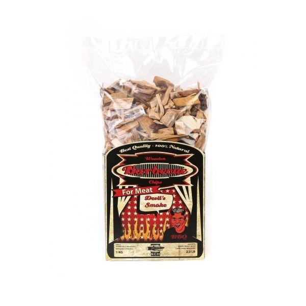 AXTSCHLAG ROOKHOUT DEVILS SMOKE CHIPS 1 KG  WWW.TUINARTIKELTOTAAL.NL