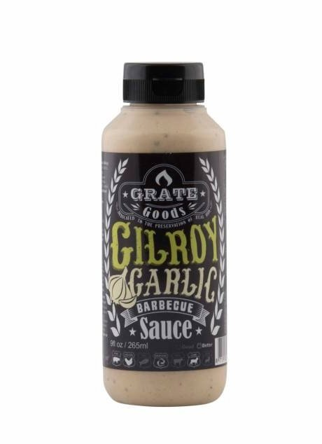 GRATE GOODS GILROY GARLIC BARBECUE SAUS 265 ML