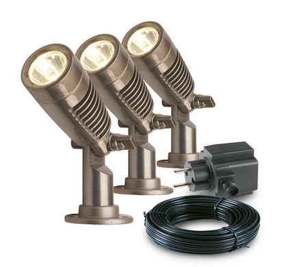 GARDEN LIGHTS MINUS TUINSPOT SET 3 STUKS