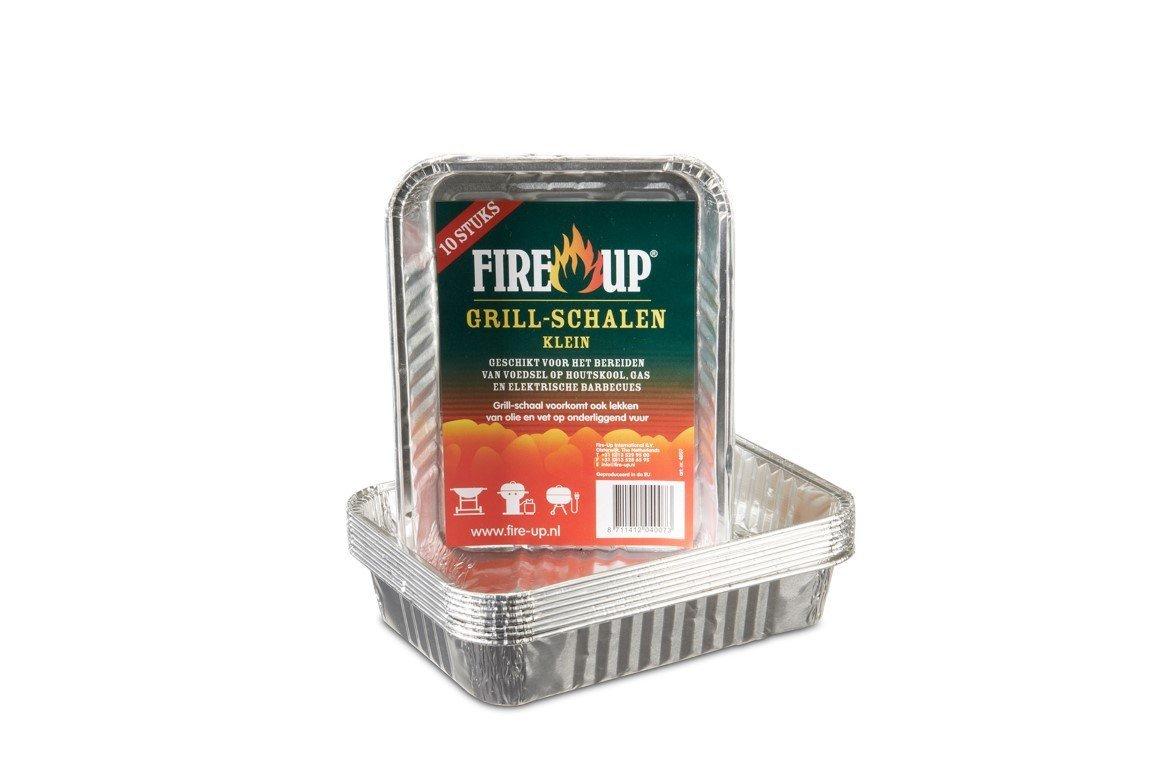 FIRE UP GRILL SCHAAL KLEIN 10 ST