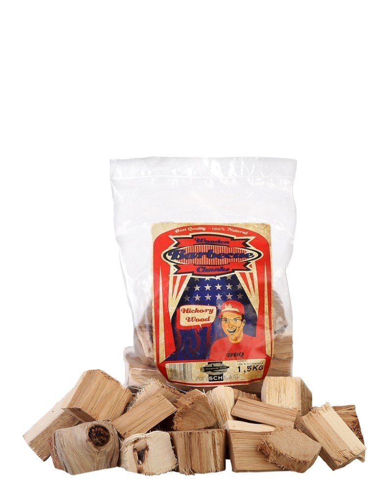 AXTSCHLAG ROOKHOUT HICKORY CHUNKS 1,5 KG