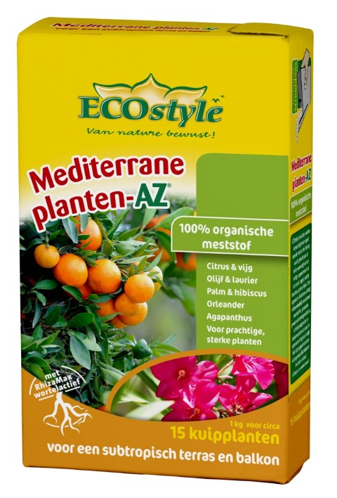 ECOSTYLE MEDITERRANE PLANTEN-AZ 1 KG