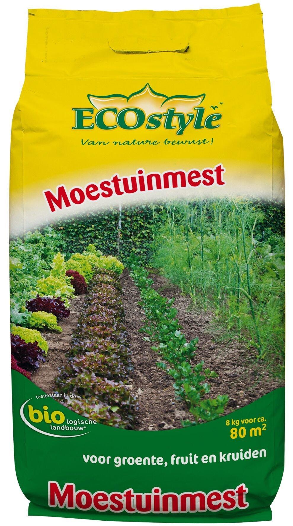 ECOSTYLE MOESTUINMEST 8 KG