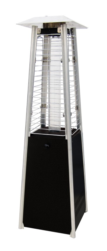 SUNRED MINI TABLE FLAME TOWER BLACK MPF15B