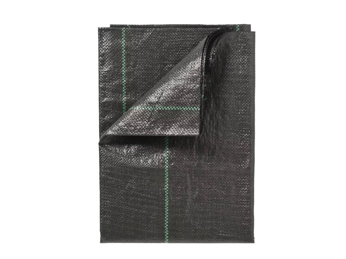 Gronddoek zwart 1 x 25 m