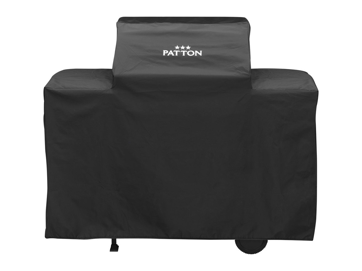 COVER PATTON PATRON 3 EN 4 + (R)CART TWO BURNER/CART TOP MARBLE