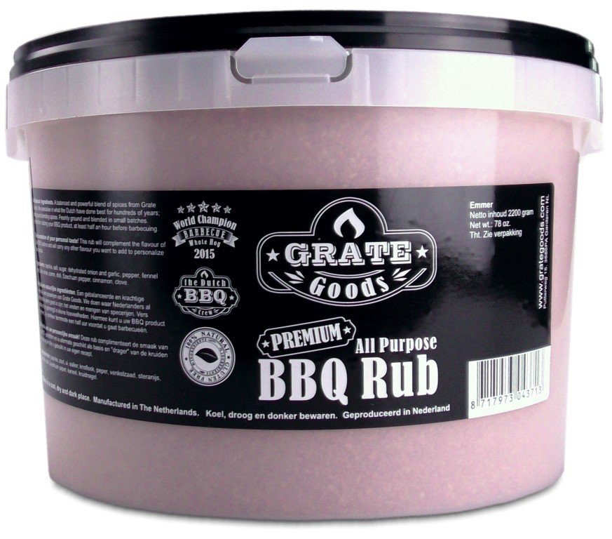 GRATE GOODS ALL PURPOSE BBQ RUB 2200 GR EMMER