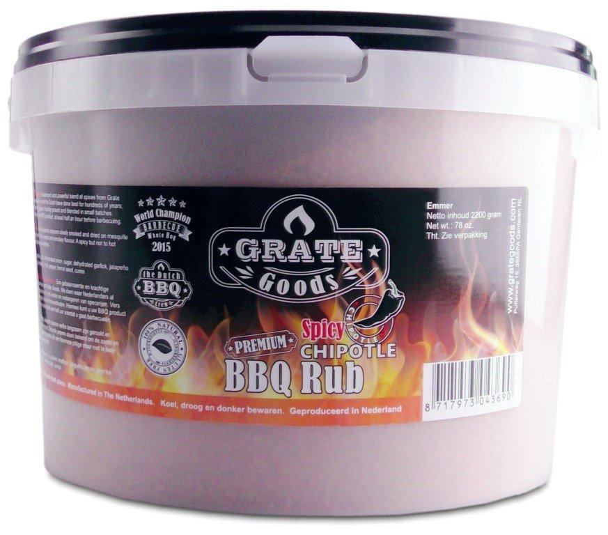 GRATE GOODS PREMIUM SPICY CHIPOTLE BBQ RUB 2200 GR EMMER