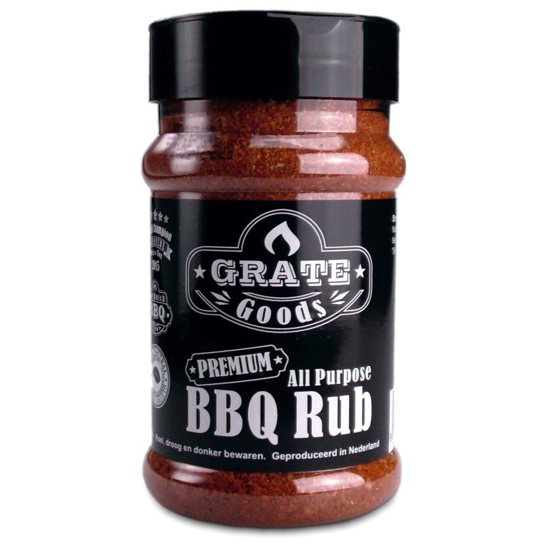 GRATE GOODS ALL PURPOSE BBQ RUB 180 GR STROOIBUS