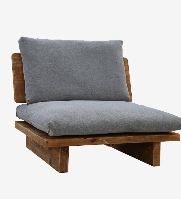 Loungestoel Reclaimed Wood
