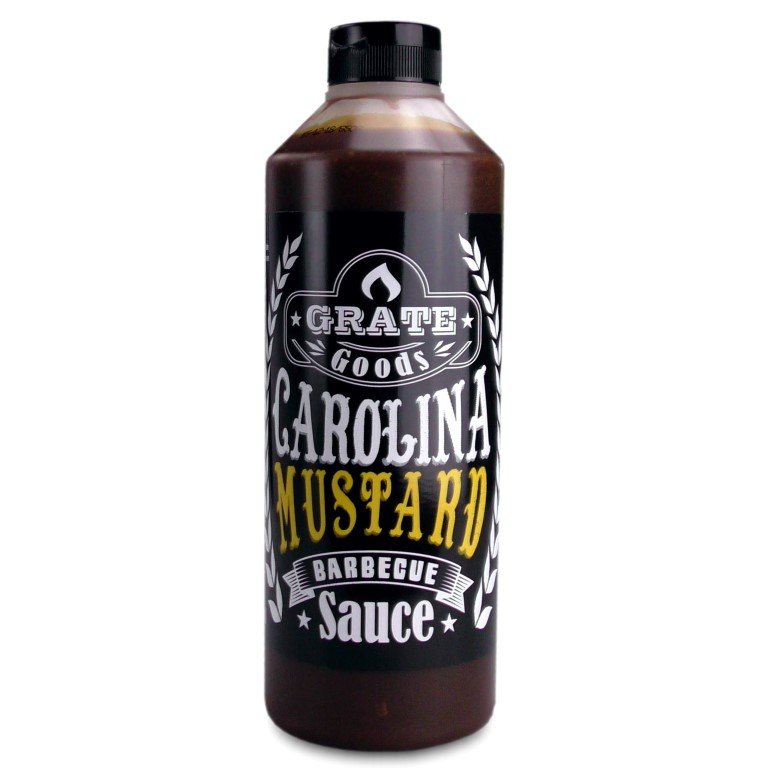 GRATE GOODS CAROLINA MUSTARD BARBECUE SAUS 775 ML
