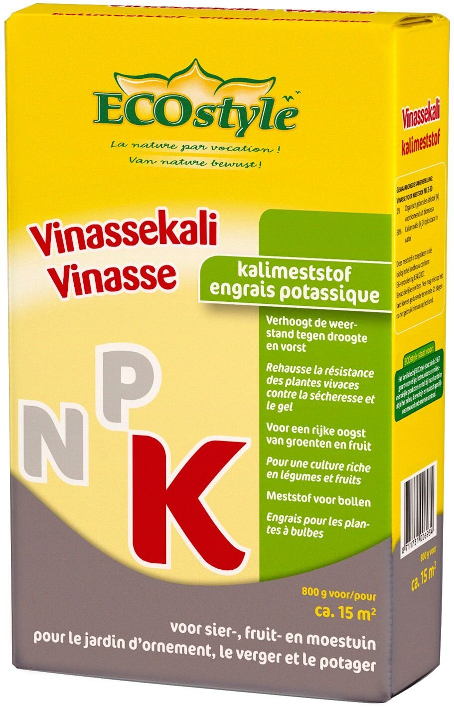 ECOSTYLE VINASSEKALI 0,8 KG