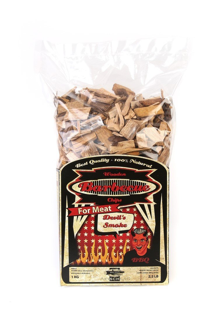 AXTSCHLAG ROOKHOUT DEVILS SMOKE CHIPS 1 KG