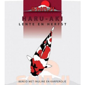 SHINJI HARU-AKI LENTE EN HERFST VOER 2500 GRAM  WWW.TUINARTIKELTOTAAL.NL