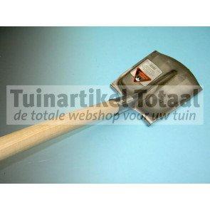 STEEKBATS RB1/4 000 MET OPSTAP EN GEBOGEN STEEL 110 CM  WWW.TUINARTIKELTOTAAL.NL