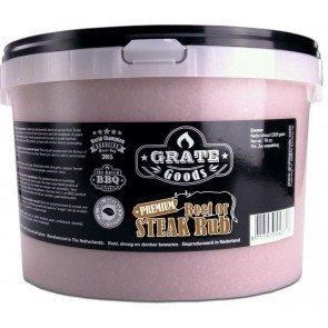 GRATE GOODS PREMIUM BEEF OR STEAK RUB 2200 GR EMMER  WWW.TUINARTIKELTOTAAL.NL