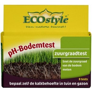 ECOSTYLE PH BODEMTEST  WWW.TUINARTIKELTOTAAL.NL