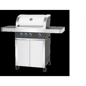 "PATTON PROMINENT 3+ BURNER ""ALPINE WHITE""  WWW.TUINARTIKELTOTAAL.NL"