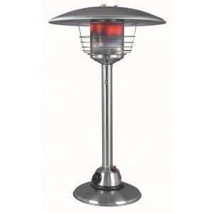 EUROM TABLE LOUNGE HEATER 3000 RVS  WWW.TUINARTIKELTOTAAL.NL