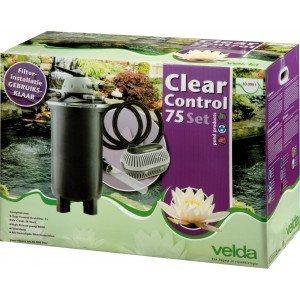 VELDA CLEAR CONTROL 75 DRUKFILTER SET  WWW.TUINARTIKELTOTAAL.NL