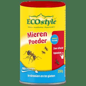 ECOSTYLE MIERENPOEDER 250 GRAM  WWW.TUINARTIKELTOTAAL.NL