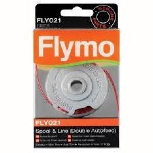 FLYMO ACCESSOIRES FLY021 DUBBELE DRAADSPOEL  WWW.TUINARTIKELTOTAAL.NL