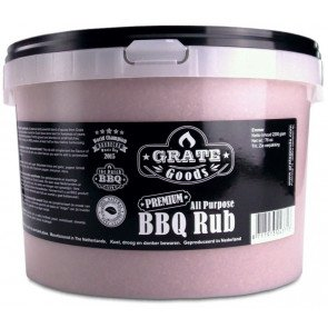 GRATE GOODS ALL PURPOSE BBQ RUB 2200 GR STROOIBUS  WWW.TUINARTIKELTOTAAL.NL