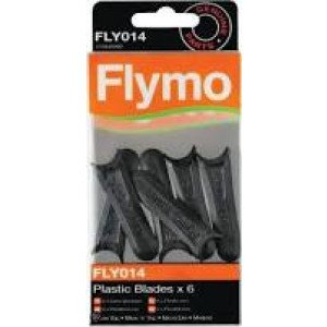 FLYMO ACCESSOIRES FLY014 KUNSTSTOFMESSEN WWW.TUINARTIKELTOTAAL.NL