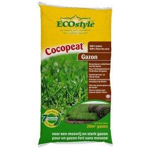 ECOSTYLE COCOPEAT GAZON 40 LITER  WWW.TUINARTIKELTOTAAL.NL