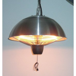 PATIO HEATER RVS, HALOGEEN, CEILING MOUNTED, CE11  WWW.TUINARTIKELTOTAAL.NL