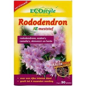 ECOSTYLE RODODENDRON AZ 2 KG  WWW.TUINARTIKELTOTAAL.NL