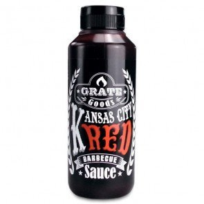 GRATE GOODS KANSAS CITY RED BARBECUE SAUS 265 ML  WWW.TUINARTIKELTOTAAL.NL