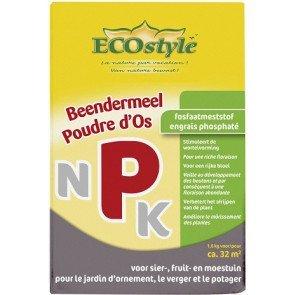 ECOSTYLE BEENDERMEEL 1,6 KG  WWW.TUINARTIKELTOTAAL.NL
