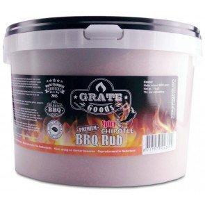 GRATE GOODS PREMIUM SPICY CHIPOTLE BBQ RUB 2200 GR EMMER  WWW.TUINARTIKELTOTAAL.NL