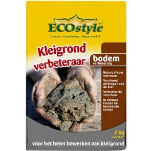 ECOSTYLE KLEIGRONDVERBETERAAR 10 KG  WWW.TUINARTIKELTOTAAL.NL